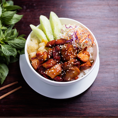 Spicy Honey Chicken Bowl 2